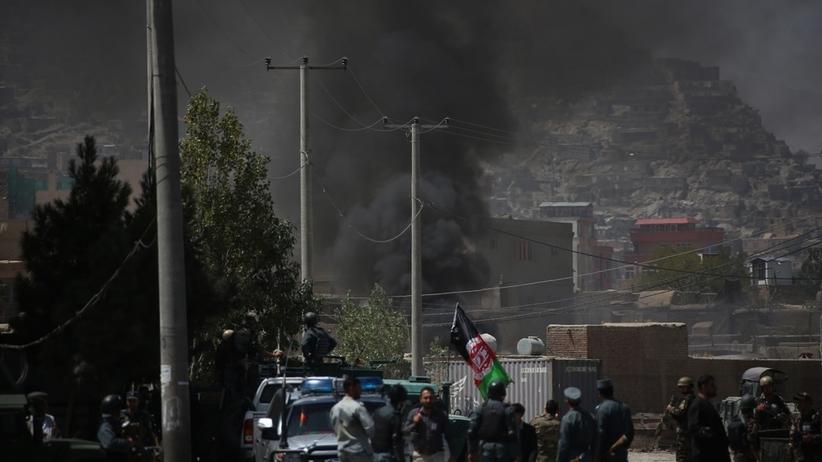 Talibowie zaatakowali w trakcie przemówienia prezydenta