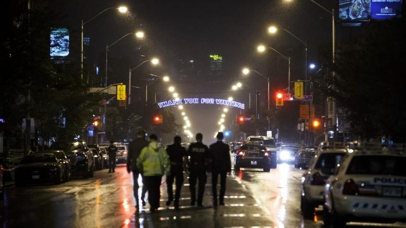 strzelanina w Toronto