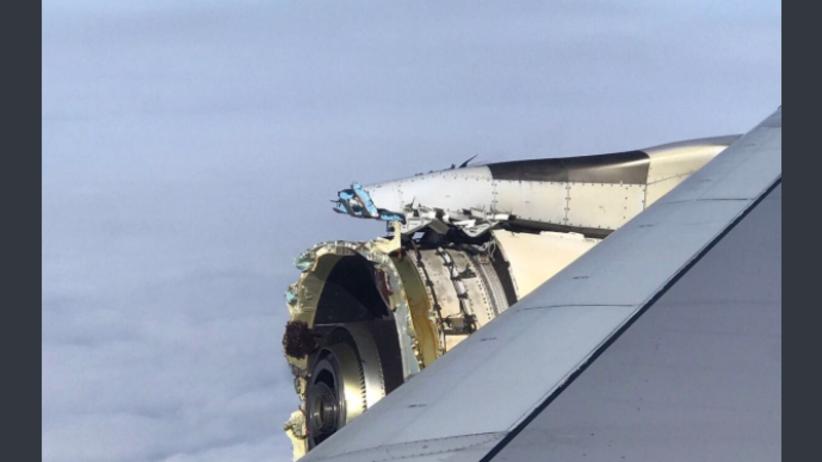 Panika i chwile grozy na pokładzie Airbusa. Maszyna uszkodziła silnik nad Atlantykiem [WIDEO]