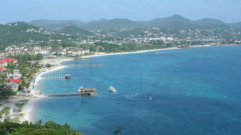 Karaiby, St Lucia