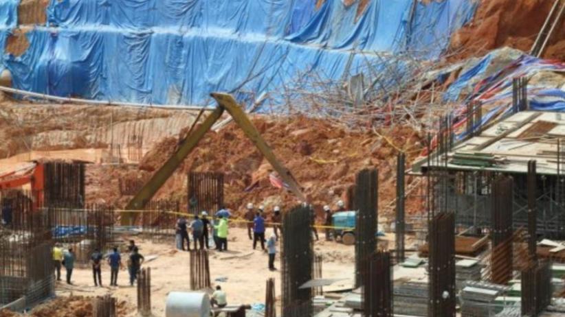 Katastrofa na budowie. Ziemia zasypała robotników. Nie żyje 11 osób