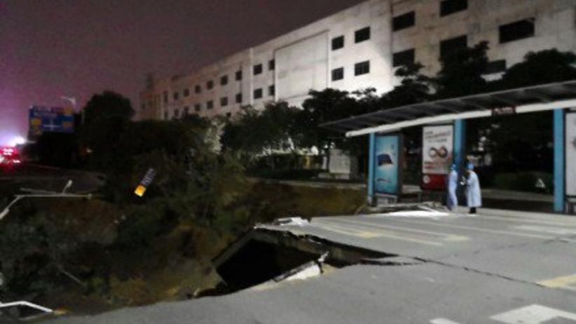 Katastrofa podczas budowy metra w Chinach: Dane o ofiarach