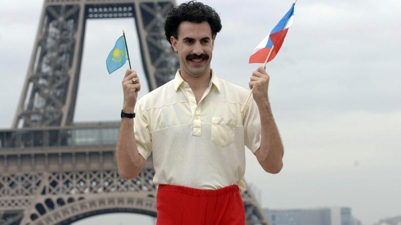 Kazachstan: Aresztowano sześciu turystów z Czech. Mieli na sobie słynny strój Borata