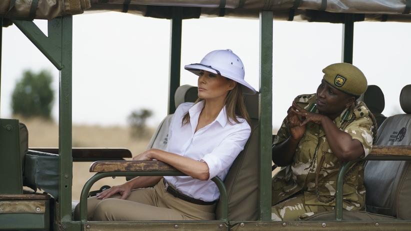 Wielka wpadka Melanii Trump. Wszystko przez kapelusz