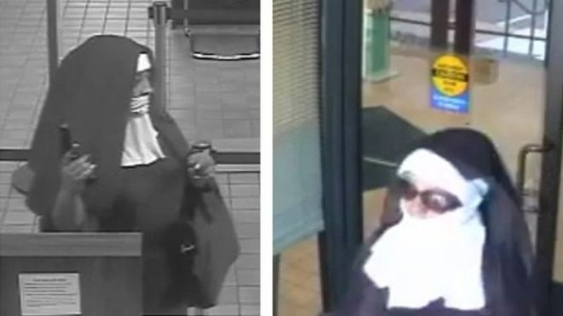 Kobiety przebrane za zakonnice napadły na bank. Szuka ich FBI