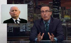 Komik John Oliver żartował z Kaczyńskiego i zmian w sądownictwie