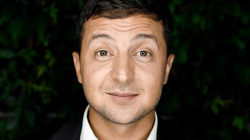 Komik telewizyjny Wołodymyr Zełenski faworytem sondaży prezydenckich na Ukrainie