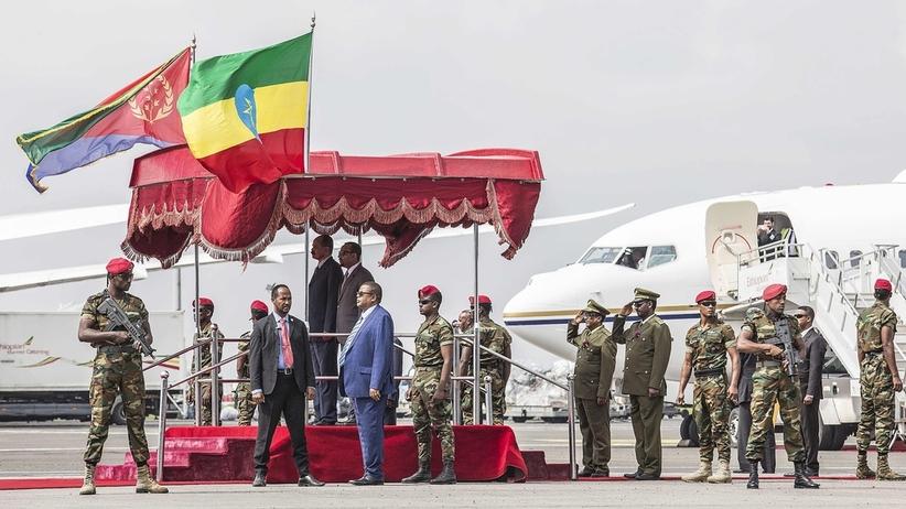 Koniec wojny między Etiopią i Erytreą