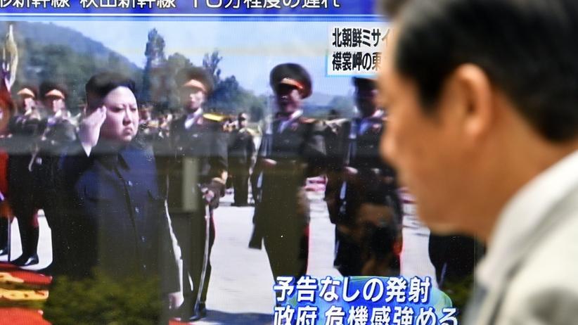 Korea Płn. wystrzeliła pocisk w kierunku północnej części Japonii