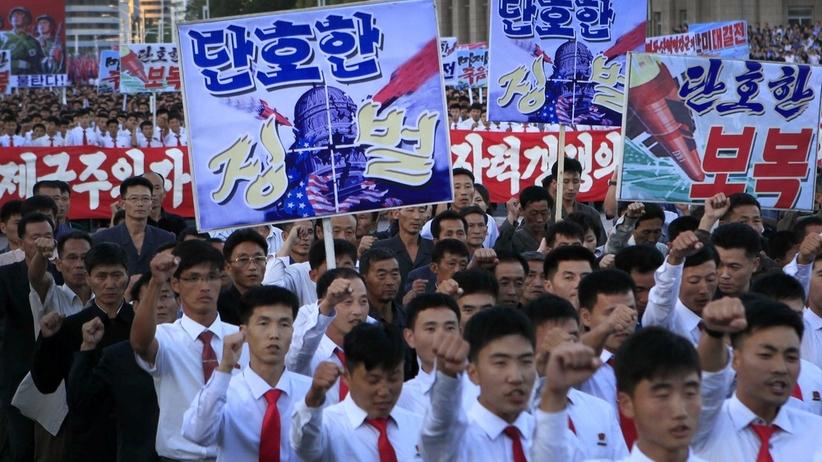 Korea Północna: Donald Trump wypowiedział nam wojnę