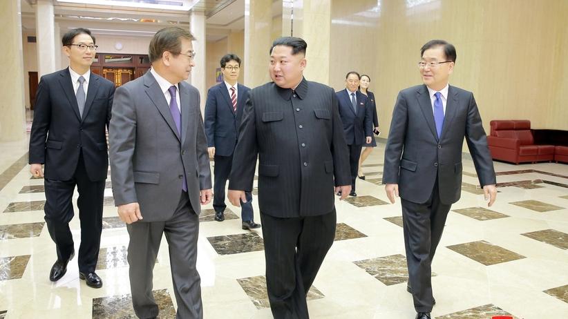 Będzie zjednoczenie? Kim Dzong Un chce rozwijać stosunki z Koreą Południową