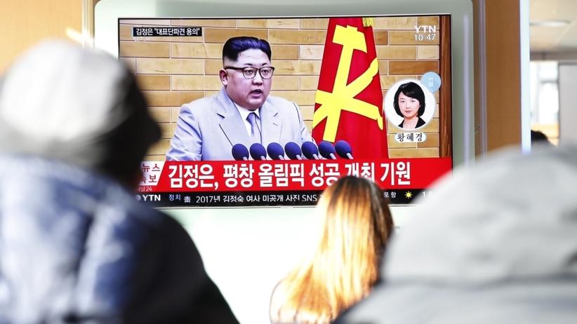 Kim Dzong Un wygraża światu: Przycisk nuklearny zawsze jest na moim biurku