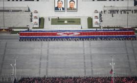 parada korea północna