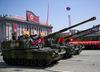 Korea Północna. Parada wojskowa z okazji 70-lecia państwa