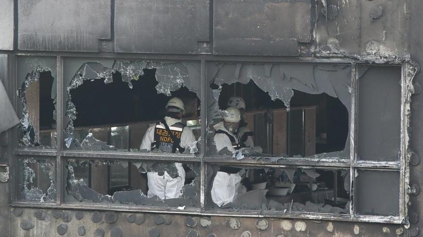 Tragiczne skutki pożaru w Korei Południowej. WIELU zabitych i rannych