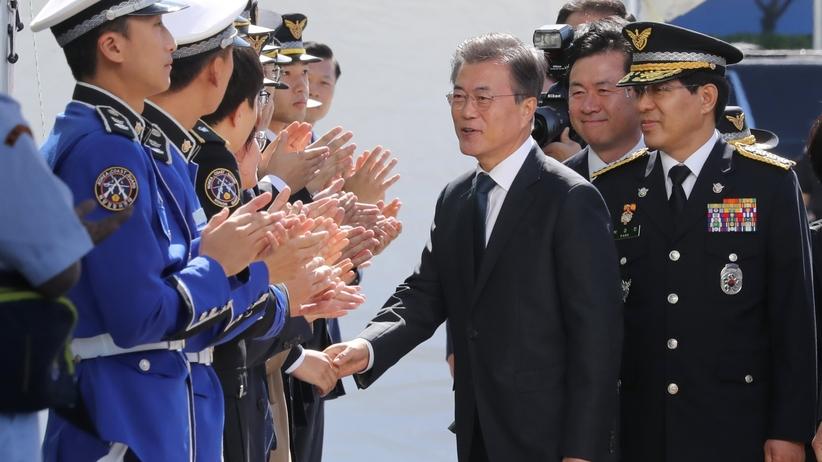 Korea Płd ćwiczy z ostrą amunicją
