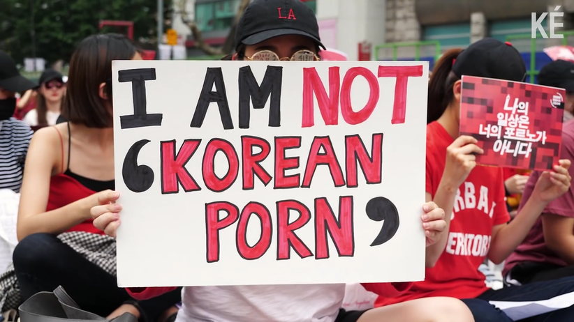 Korea Południowa. Protesty przeciwko nagrywaniu kobiet w toaletach