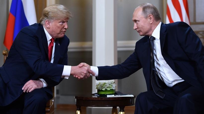 Kreml zapowiedział krótkie spotkanie Putina i Trumpa. Biały Dom zdementował