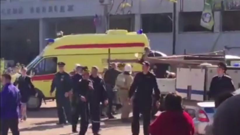 Zamach w szkole na Krymie. Napastnicy strzelali do wszystkich. Wiele ofiar