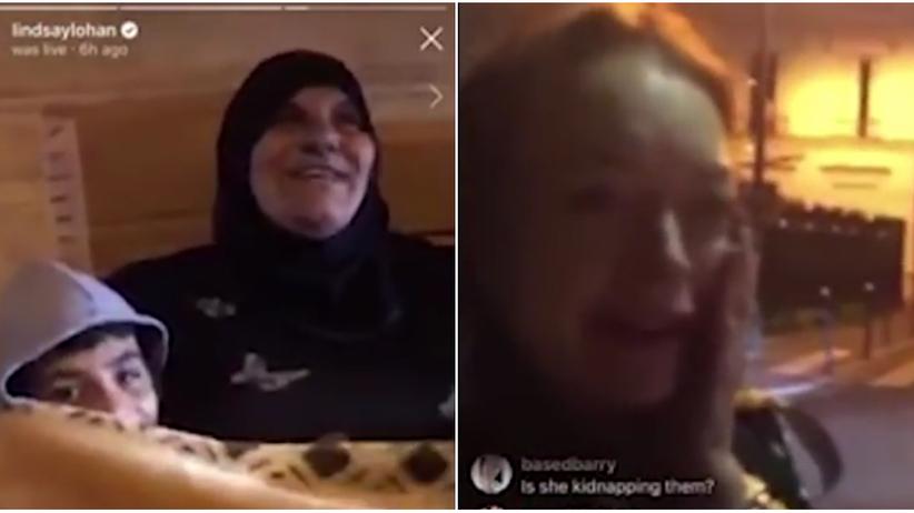 Linsdey Lohan. Dziwne wideo z udziałem celebrytki. Została spoliczkowana w Moskwie