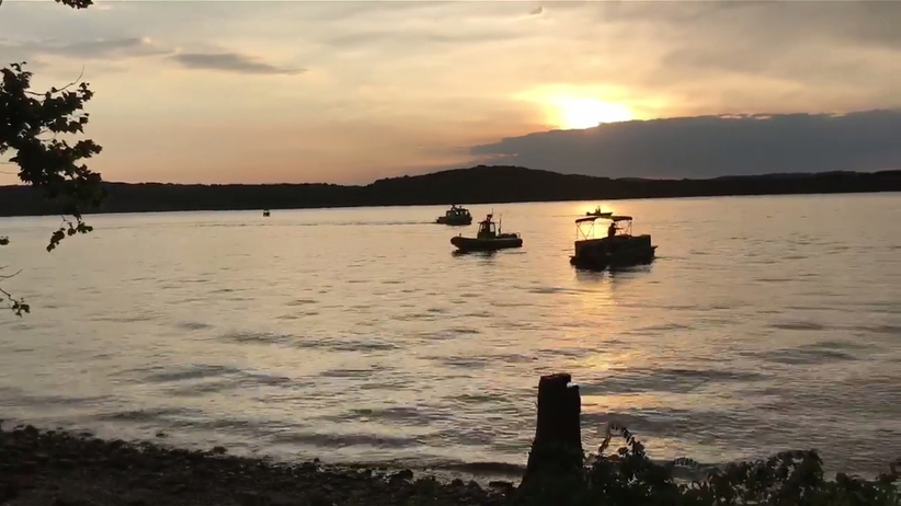 Missouri, wypadek łodzi, jezioro Table Rock