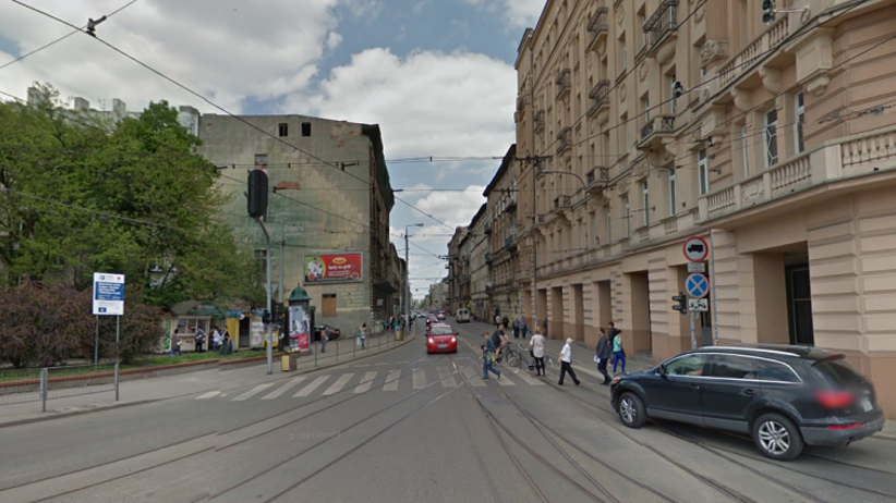 Atak na mężczyznę w centrum Łodzi. Został ugodzony nożem