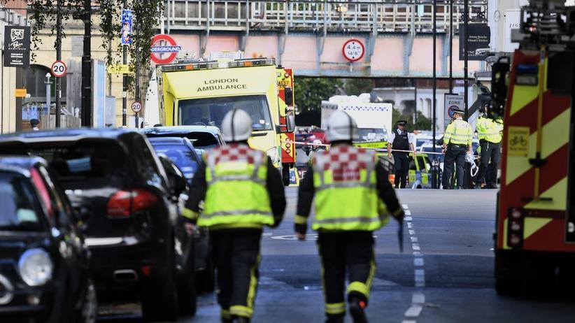 The Sun: Wybuch w metrze w Londynie. Są ranni