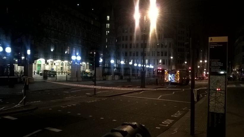Ogromny wyciek gazu w Londynie. Zamknięto stację kolejową