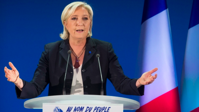 Le Pen ostro zaatakowała Macrona. Tematem islamski terroryzm