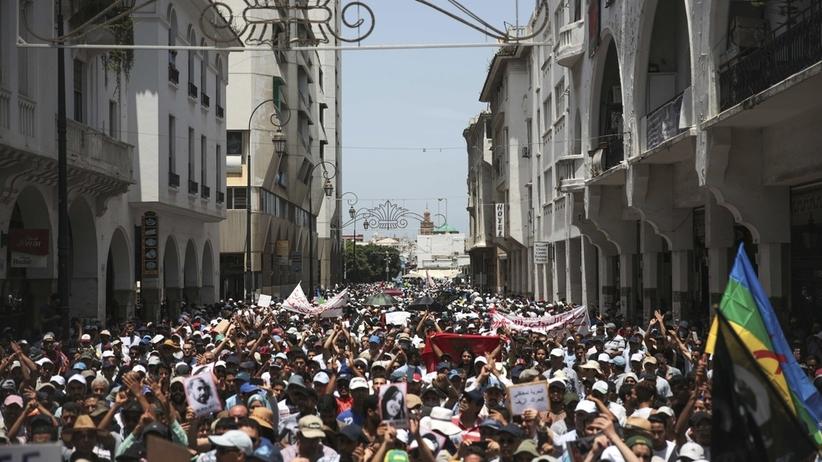 Marokańczycy wychodzą na ulicę. Największe protesty od  Arabskiej Wiosny