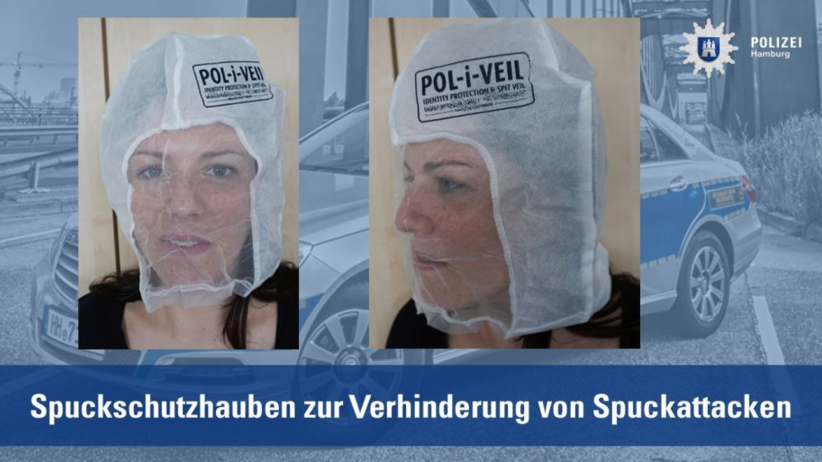 HIT! Nowe uzbrojenie niemieckiej policji. Maski przeciwko opluciom