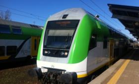 35-latek porwał pociąg w Legionowie