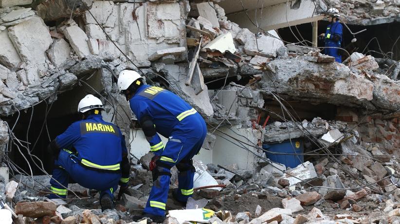 Trzęsienie Ziemi w Meksyku. Rośnie liczba ofiar śmiertelnych [FOTO]
