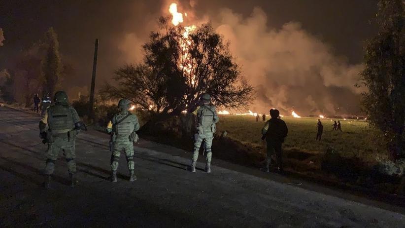 Eksplozja rurociągu w Meksyku. Co najmniej 66 ofiar