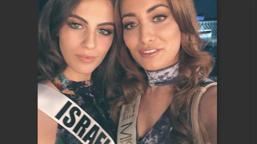 Miss Iraku grożono śmiercią z powodu selfie z miss Izraela