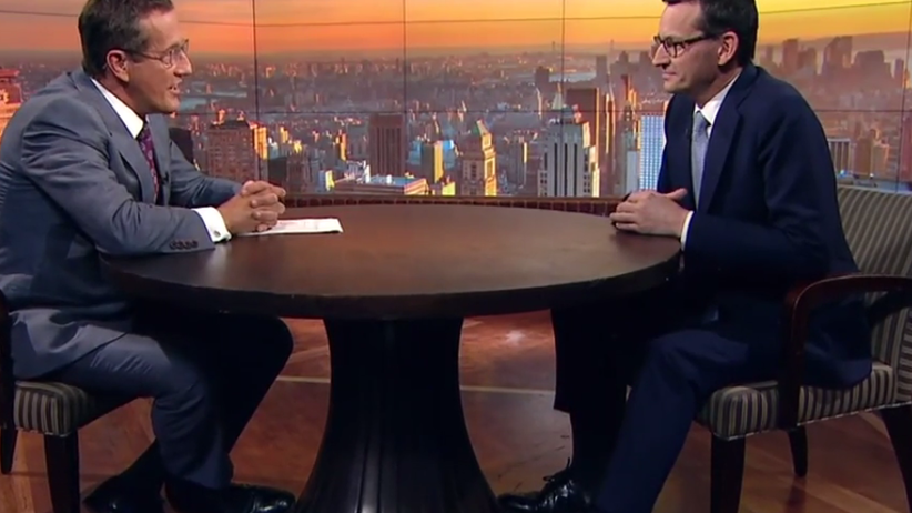 Morawiecki w CNN: Polska jest bardzo proeuropejska, ale trochę sceptyczna wobec Brukseli