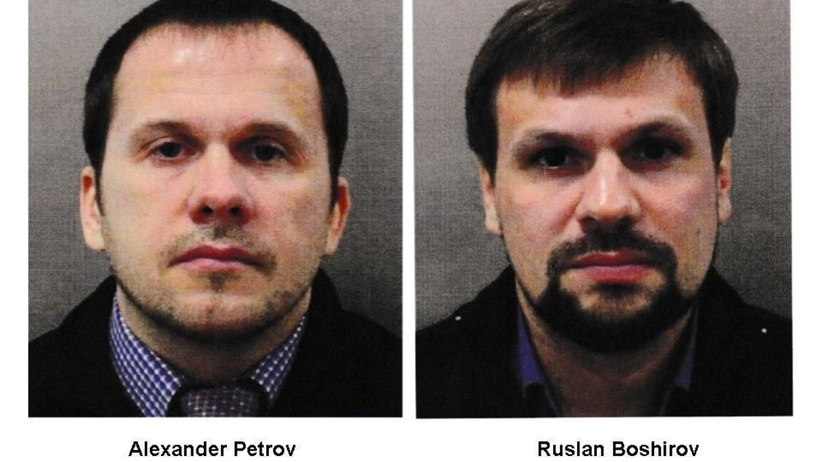 Podejrzanymi o usiłowanie zabójstwa Skripala i jego córki są Aleksandr Pietrow i Rusłan Boszyrow