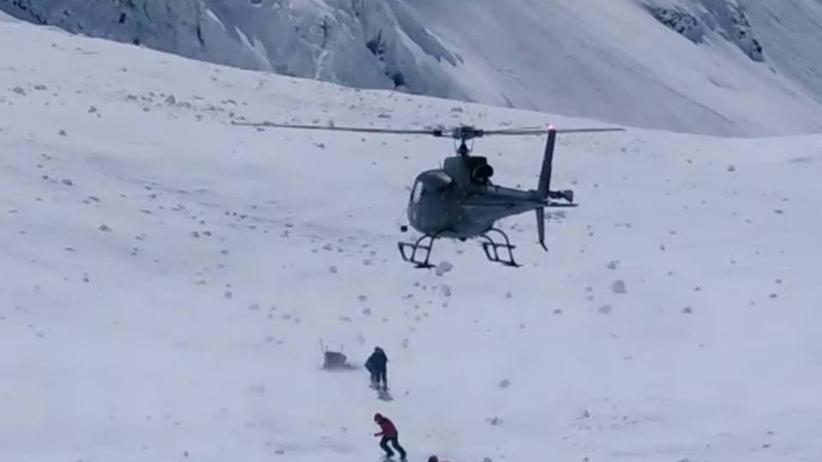 Akcja ratunkowa na Nanga Parbat. Dwie sylwetki zauważone na jednej ze ścian góry