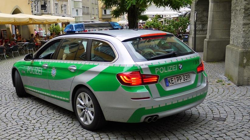 policja niemcy