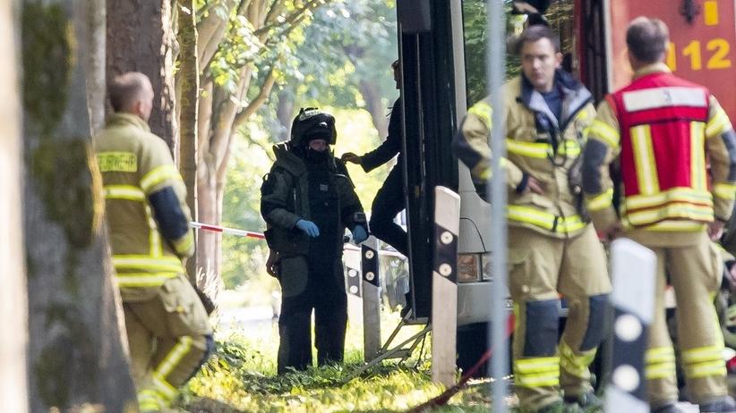 Niemcy. Dziewięć osób rannych po ataku na autobus miejski