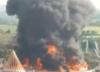 Pożar w największym parku rozrywki. Ogień zniszczył największą atrakcję [WIDEO]