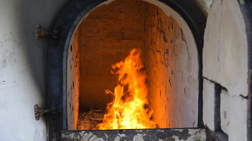 Potężny pożar w krematorium. Zwłoki nienaruszone