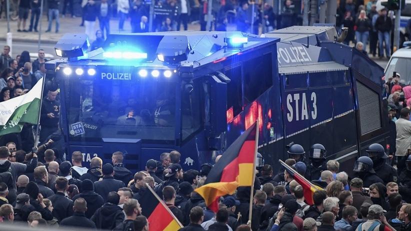 Niemcy. Zamieszki w Chemnitz. 9 osób rannych