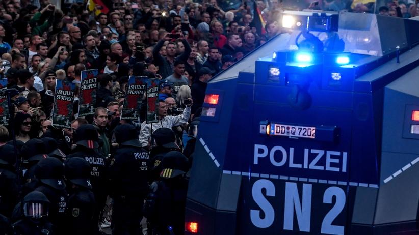 Niemcy. Zamieszki w Chemnitz. Ujawniono raport policyjny