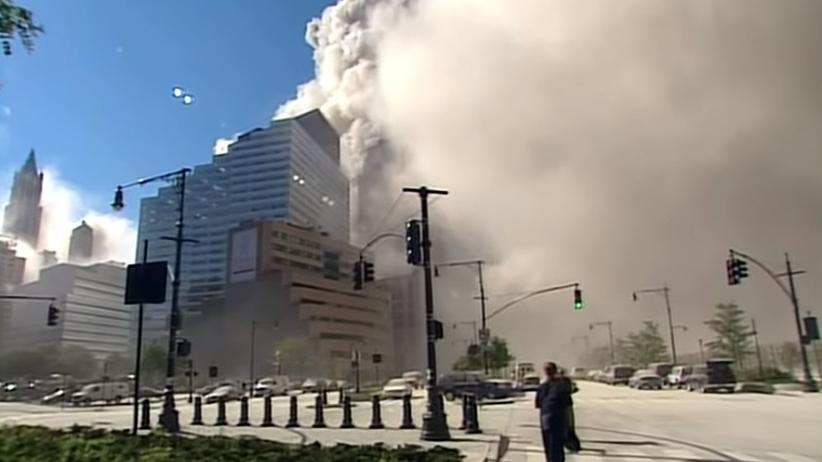 Niepublikowane nagranie ataku na WTC. Wstrząsające sceny