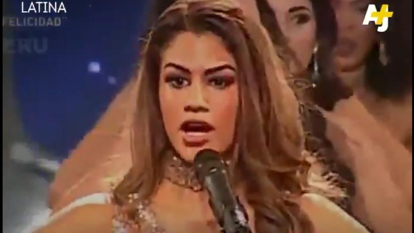 Niezwykły protest kobiet podczas wyborów Miss Peru. To trzeba zobaczyć [WIDEO]