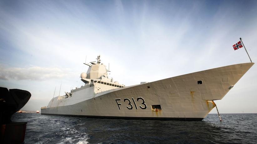 Zderzenie tankowca i fregaty u wybrzeży Norwegii. Są ranni