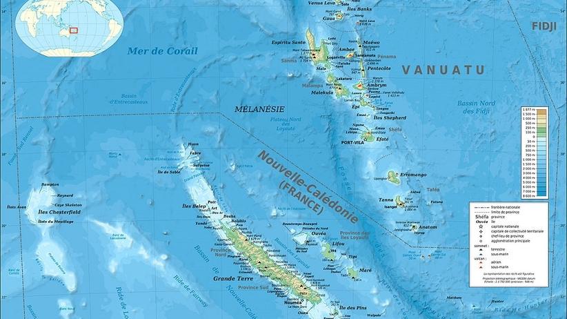 Tsunami na Pacyfiku. Uderzy w Nową Kaledonię