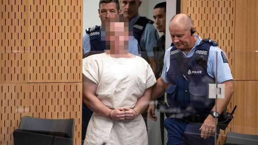 Sprawca masakry w Nowej Zelandii przed sądem. Planował więcej zamachów [ZDJĘCIA]