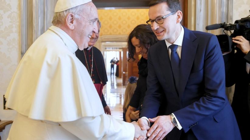 O czym Morawiecki rozmawiał z papieżem? Premier opowiada o spotkaniu